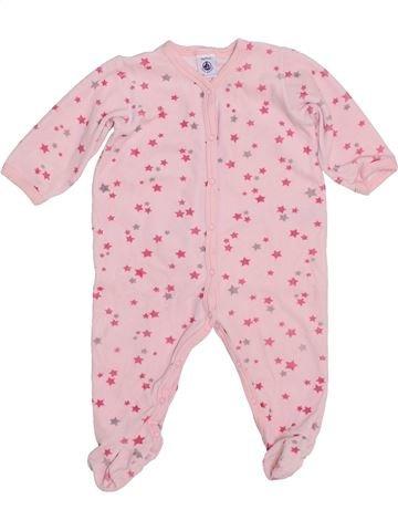 Pyjama 1 pièce fille PETIT BATEAU violet 9 mois hiver #1400531_1