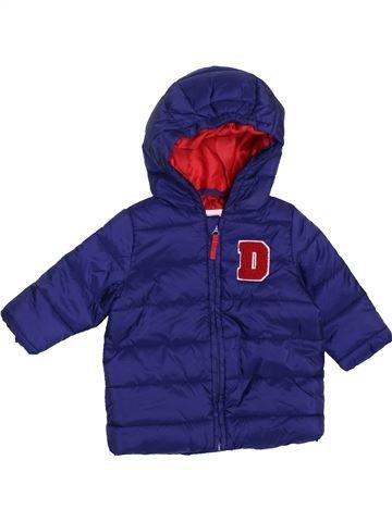 Doudoune garçon DPAM violet 3 mois hiver #1400792_1