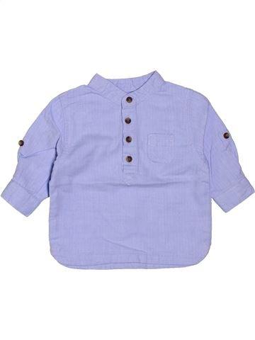 Chemise manches longues garçon KIABI violet 3 mois hiver #1400818_1
