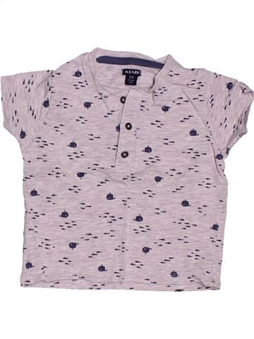 T-shirt manches courtes garçon KIABI rose 12 mois été #1400841_1