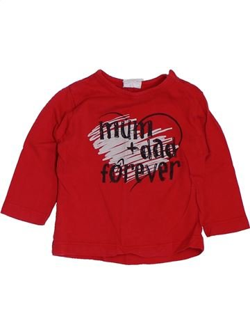 Camiseta de manga larga niño KIABI rojo 12 meses invierno #1400842_1