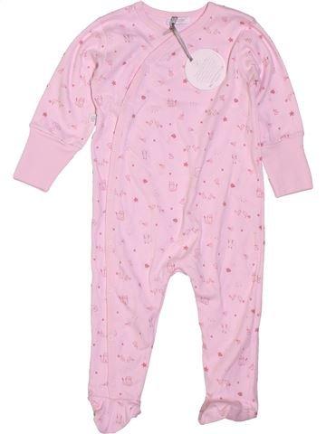 Pijama de 1 pieza niña ABSORBA rosa 12 meses verano #1400898_1