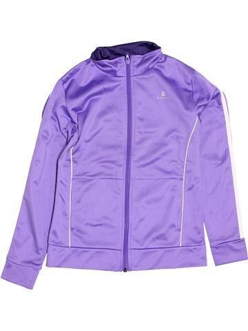 Ropa deportiva niña DOMYOS violeta 10 años invierno #1400934_1
