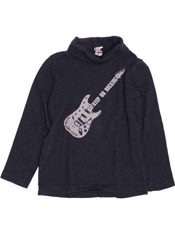 T-shirt col roulé garçon TAPE À L'OEIL noir 5 ans hiver #1400940_1