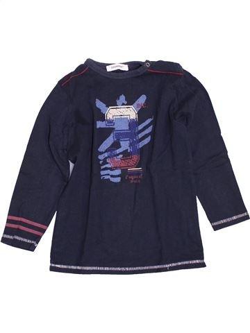 Camiseta de manga larga niño 3 POMMES azul 3 años invierno #1400943_1