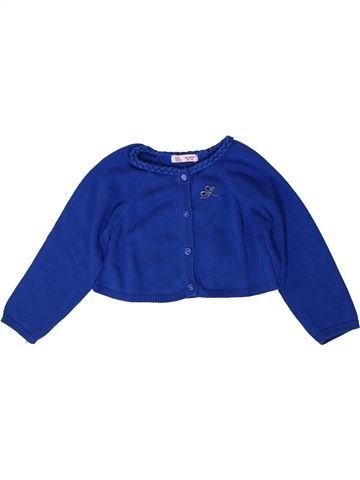 Chaleco niña DPAM azul 18 meses invierno #1400991_1