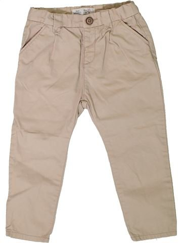 Pantalon fille ZARA beige 3 ans été #1401003_1
