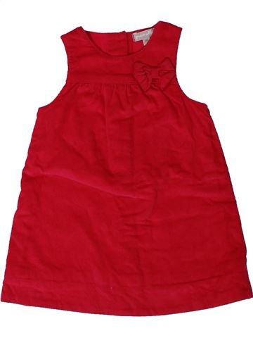 Vestido niña GRAIN DE BLÉ rojo 6 meses invierno #1401005_1