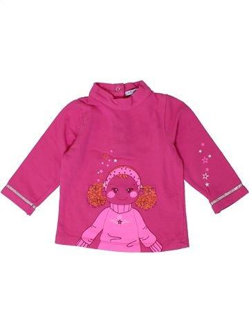 T-shirt manches longues fille PREMAMAN rose 6 mois hiver #1401038_1
