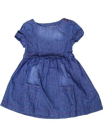 Vestido niña VERTBAUDET azul 6 años verano #1401260_1