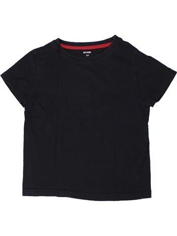 T-shirt manches courtes garçon KIABI noir 6 ans été #1401282_1