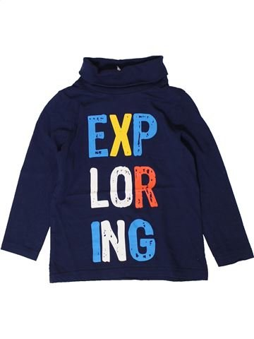 T-shirt col roulé garçon C&A bleu 4 ans hiver #1401291_1