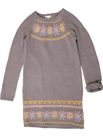 Robe fille VERTBAUDET gris 12 ans hiver #1401317_1