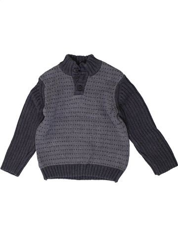 Pull garçon ORCHESTRA gris 4 ans hiver #1401369_1