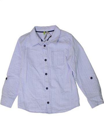 Camisa de manga larga niño ORCHESTRA azul 5 años invierno #1401370_1