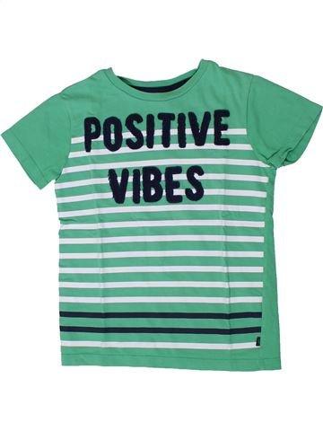 T-shirt manches courtes garçon OKAIDI vert 6 ans été #1401398_1