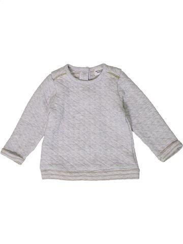 Sweat fille TAPE À L'OEIL gris 18 mois hiver #1401414_1