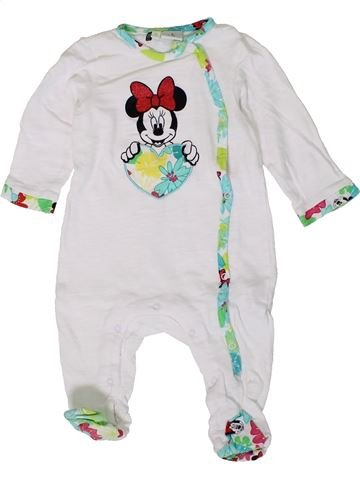 Pijama de 1 pieza niña DISNEY blanco 9 meses verano #1401430_1