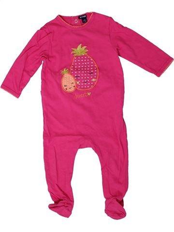 Pyjama 1 pièce fille KIABI rose 12 mois été #1401440_1