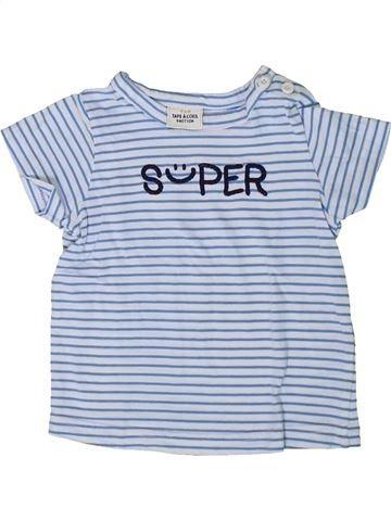 T-shirt manches courtes garçon TAPE À L'OEIL gris 9 mois été #1401441_1
