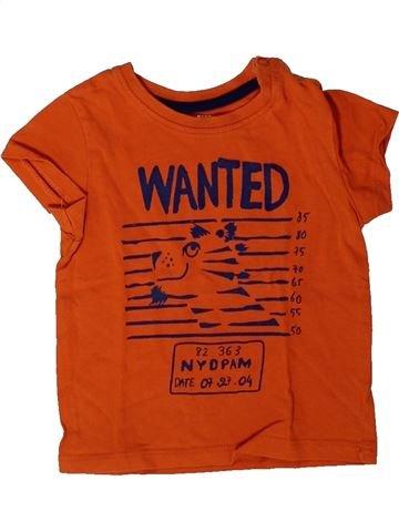 Camiseta de manga corta niño DPAM naranja 9 meses verano #1401452_1