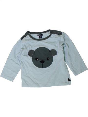 Camiseta de manga larga niño KIABI gris 12 meses invierno #1401467_1