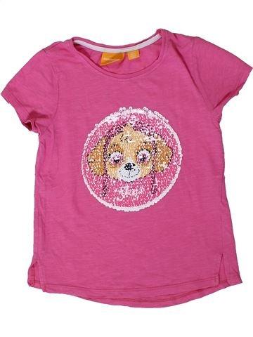 T-shirt manches courtes fille PAT'PATROUILLE rose 6 ans été #1401478_1