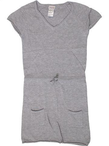 Robe fille VERTBAUDET gris 6 ans hiver #1401502_1