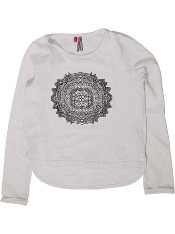 Camiseta de manga larga niña ORCHESTRA blanco 8 años invierno #1401557_1