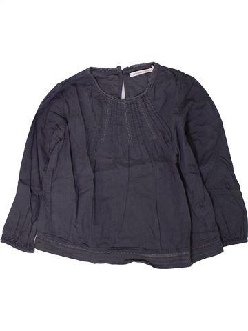 Blouse manches longues fille MONOPRIX bleu 3 ans hiver #1401560_1