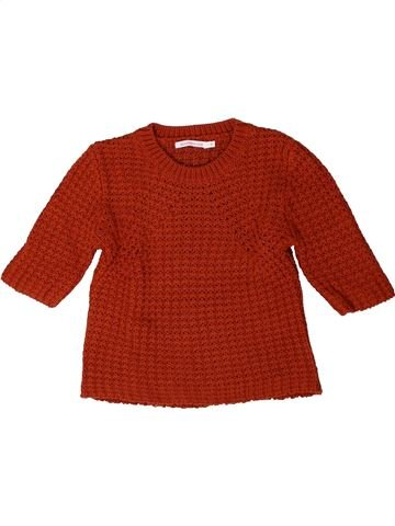 Pull fille MONOPRIX rouge 5 ans hiver #1401571_1