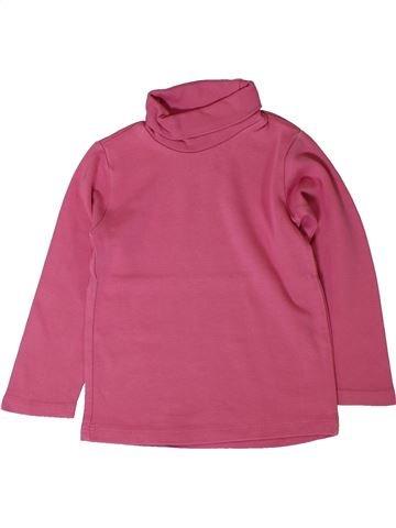 T-shirt col roulé fille ZARA rose 3 ans hiver #1401591_1