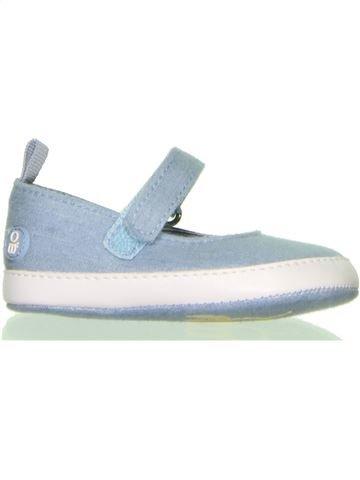 Zapatos bebe niña OKAIDI azul 12 meses verano #1401598_1