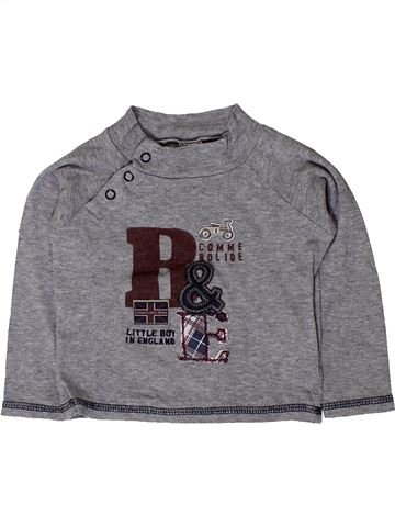 Camiseta de manga larga niño TAPE À L'OEIL gris 18 meses invierno #1401620_1