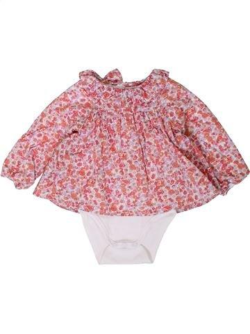 Blusa de manga larga niña JACADI rosa 12 meses invierno #1401632_1