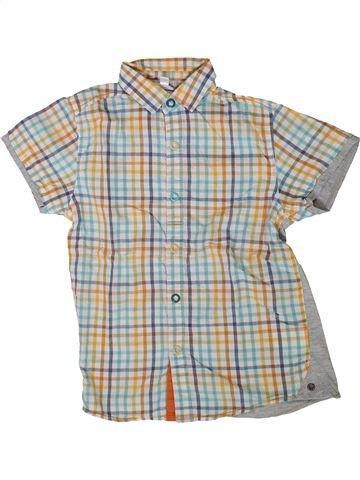 Chemise manches courtes garçon VERTBAUDET gris 8 ans été #1401642_1