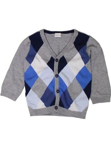 Gilet garçon H&M gris 12 mois hiver #1401672_1