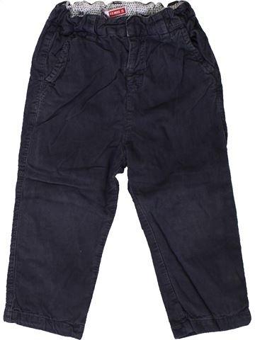 Pantalón niña DPAM negro 2 años invierno #1401685_1