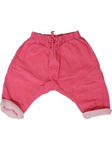 Pantalon fille PETIT BATEAU rose 3 mois hiver #1401734_1