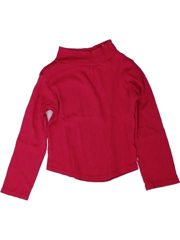 T-shirt manches longues fille OKAIDI rouge 3 ans hiver #1401743_1
