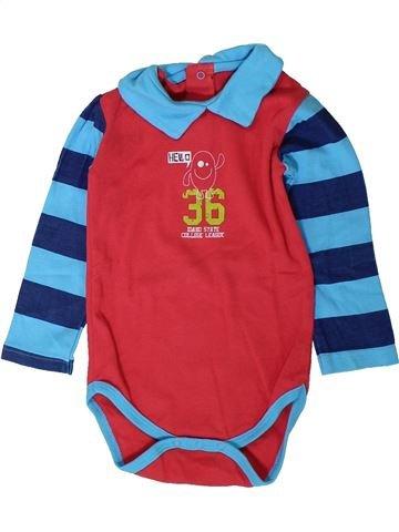 Camiseta de manga larga niño P'TIT BEGUIN rosa 18 meses invierno #1401861_1