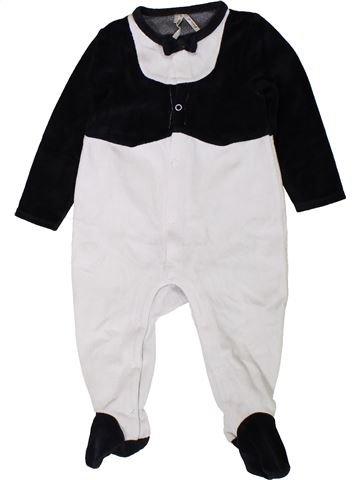 Pyjama 1 pièce garçon ORCHESTRA blanc 18 mois hiver #1401869_1