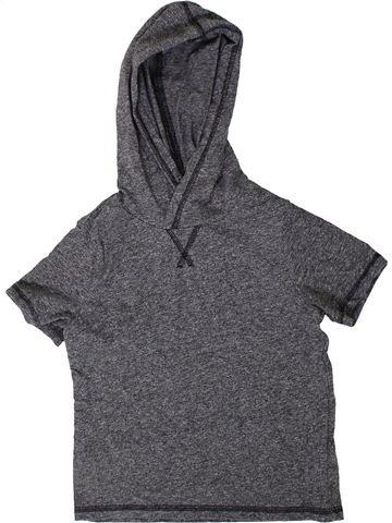 T-shirt manches courtes garçon H&M gris 4 ans été #1401930_1