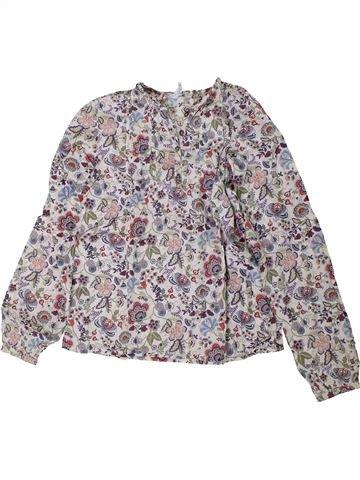 Blusa de manga larga niña JACADI violeta 10 años invierno #1401954_1