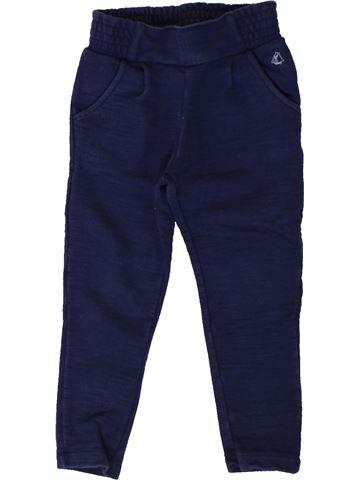 Pantalon fille PETIT BATEAU violet 3 ans hiver #1402004_1