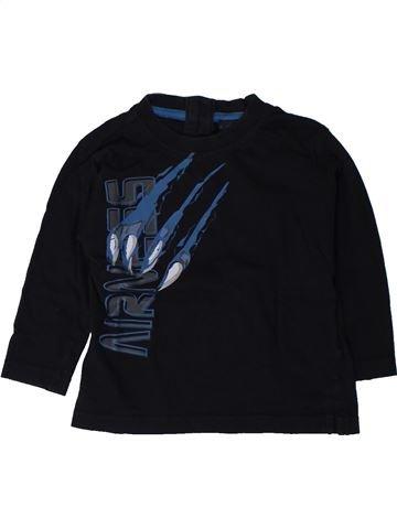T-shirt manches longues garçon AIRNESS noir 18 mois hiver #1402045_1