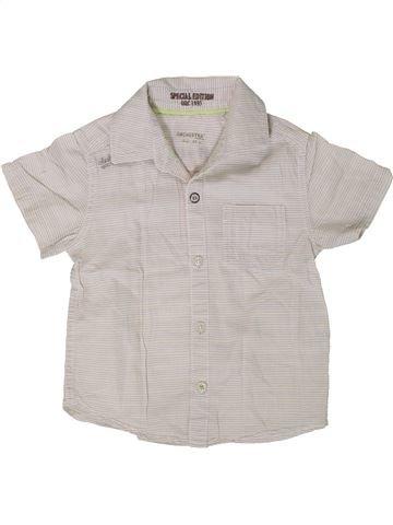 Camisa de manga corta niño ORCHESTRA blanco 3 años verano #1402075_1