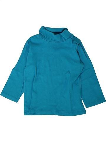 T-shirt col roulé garçon KIABI bleu 18 mois hiver #1402094_1