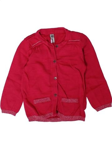 Gilet fille ORCHESTRA rouge 2 ans hiver #1402129_1