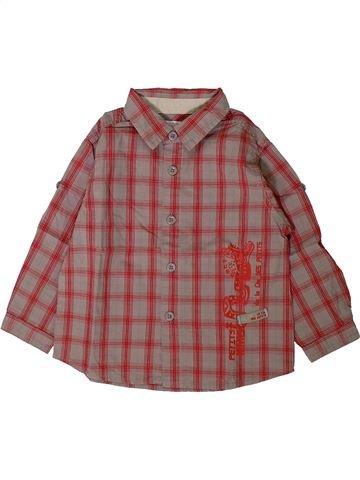 Camisa de manga larga niño LA COMPAGNIE DES PETITS marrón 2 años invierno #1402133_1